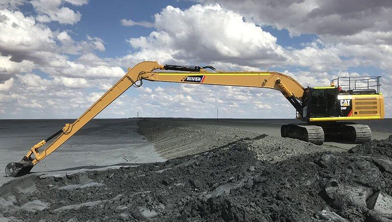 Escavador long boom