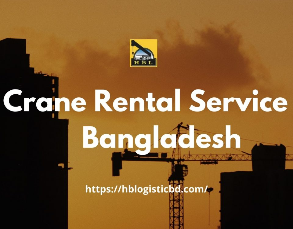 Crane rental companies in Bangladesh