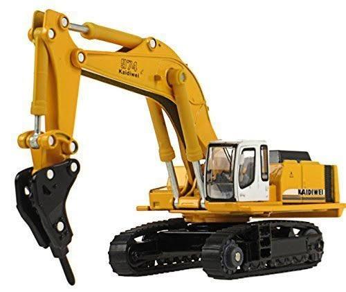 Hammering Excavator